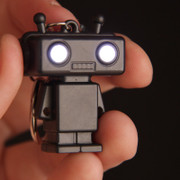 """Robert"" the robot Led Key Ring"