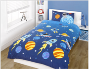 Kids Rocket Duvet Set - Single