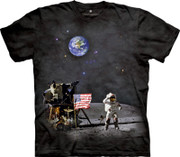 The Mountain - Moon Landing T-Shirt