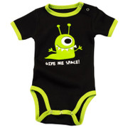 LazyOne Boys Give Me Space BabyGrow Vest (infant creeper)