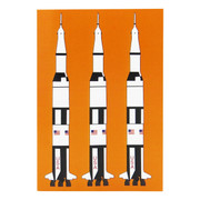 Robert William A5 Saturn V Rocket Notebook