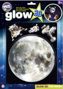 The Original Glowstars Company - Glow 3D Moon Sticker Pack