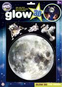 The Original Glowstars Company - Glow 3D Moon Sticker Pack