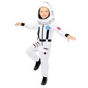 Astronaut Space Suit White Costume