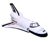 Space Shuttle Soft Toy