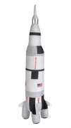 Saturn Rocket Plush Toy - Small - 17.5inches / 44.5cm