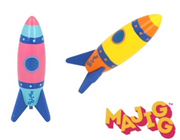MAJIGG Wooden Rocket