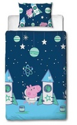 Official George Pig Boom Reversible Duvet Set - Single
