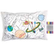 Space Explorer Pillowcase - colour in & learn
