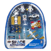 Space Explorer 10 Piece Backpack Playset
