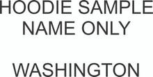 HOODIE SAMPLE NAME