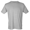 T-SHIRT SHORT SLEEVE- HEATHER GRAY - AW SOFTBALL LOGO