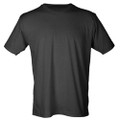 T-SHIRT SHORT SLEEVE- BLACK- DC Basketball Logo - FRONT