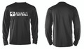 LONG SLEEVE DRIFIT - BLACK