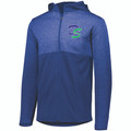 JACKET - FULL ZIP - PERFORMANCE FLEECE - EMBROIDERY LOGO LEFT CHEST- ROYAL