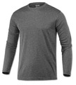 LONG SLEEVE  - DRIFIT - HEATHER BLACK