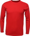 3/4 RAGLAN SLEEVE - TEE - BLACK / RED SLEEVES