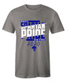 TEE - CHARCOAL - DOHERTY SPARTAN LOGO