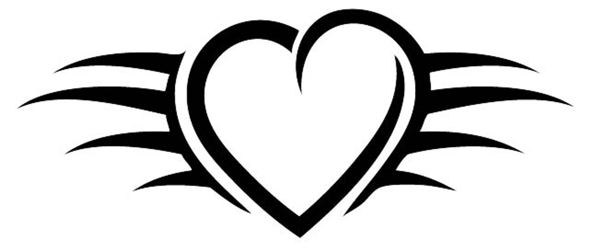 Heart Car Decals Car Stickers Heart Car Decal 04