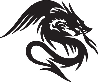 Dragon Car Decal 10