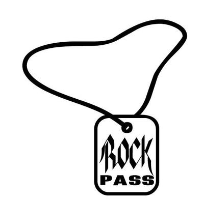 Rock Pass Car Decal
