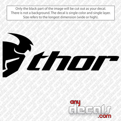 motocross decals, Thor decal, car decals, car stickers, decals for cars, stickers for cars, window stickers, vinyl stickers, vinyl decals
