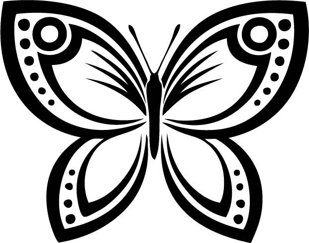 Insect Car Decals Car Stickers Butterfly Car Decal - Butterfly vinyl decals