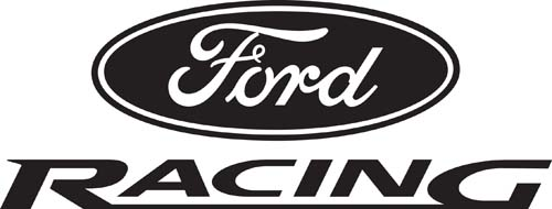 Car Decals Car Stickers Ford Racing Car Decal AnyDecalscom - Decals for cars
