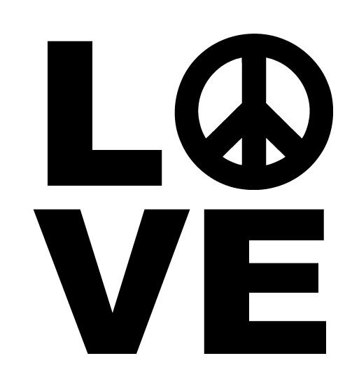Love Car Decals Car Stickers Love Peace Car Decal AnyDecalscom - Decals for cars