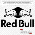 red bull car decals, energy drink car decals