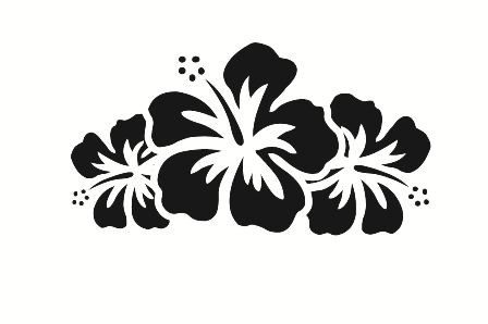 Flower Car Decals - Car Stickers | Hibiscus Flower Car ...