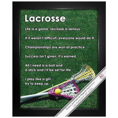 Lacrosse Car Magnets · Lacrosse Poster Prints ...
