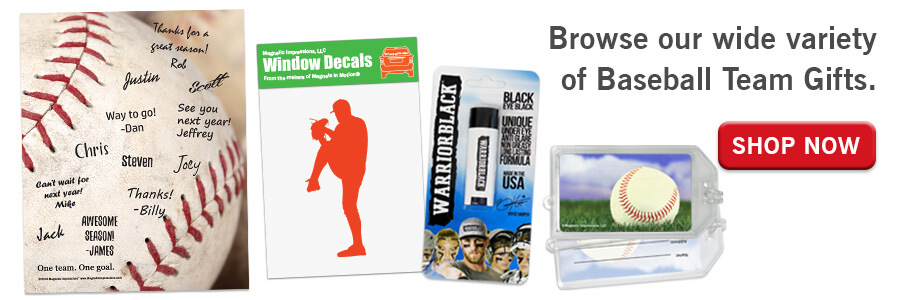 Shop Baseball Team Gifts
