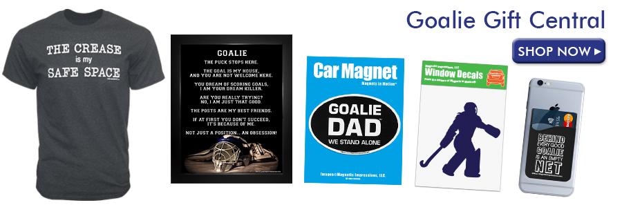 Shop Goalie Gifts