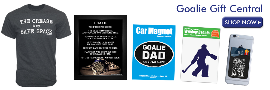 Shop Goalie Gifts