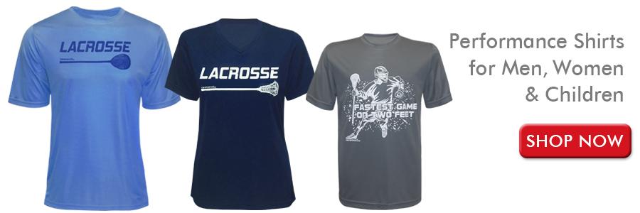 Shop Performance Lacrosse Shirts