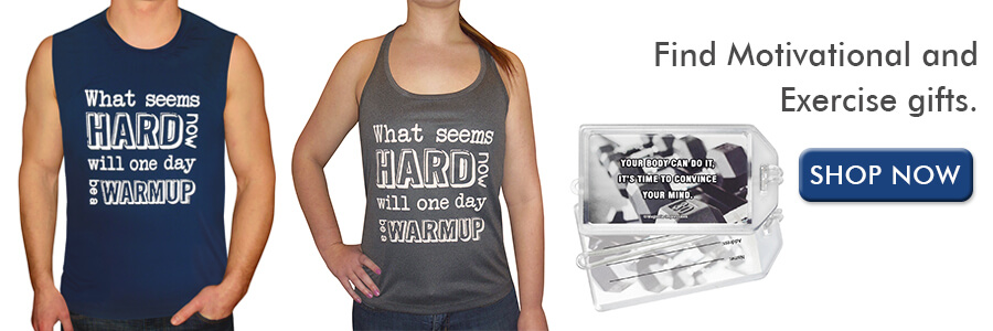 Shop Motivational Exercise Gifts