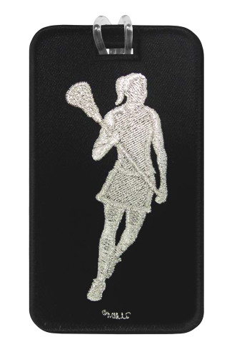 Lacrosse Female Luggage Tag