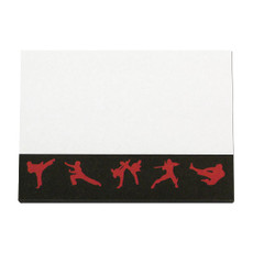 Martial Arts Sticky Notes