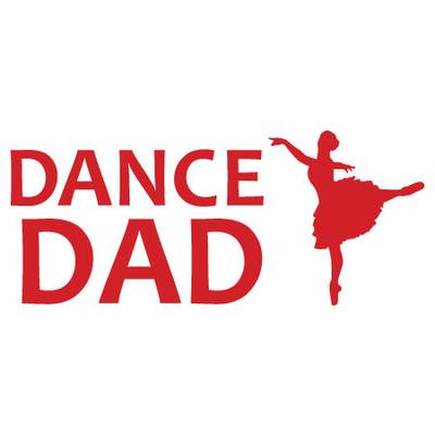 Dance Dad Window Decal