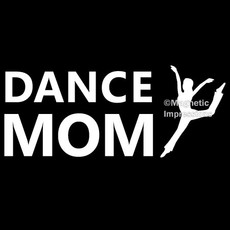 Dance Mom Modern Window Decal