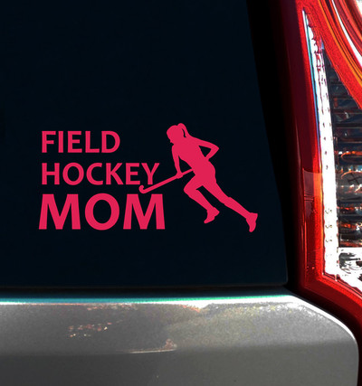 Field Hockey Mom Window Decal