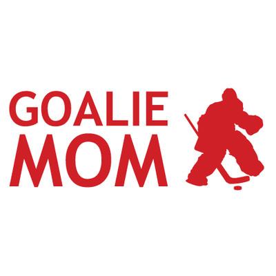 Hockey Goalie Mom Window Decal