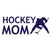 Hockey Mom Faceoff Window Decal