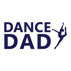 Dance Dad Jazz Window Decal