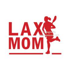 Lax Mom Female Window Decal