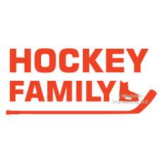 Hockey Family Window Decal