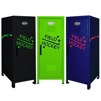 Field Hockey Mini Locker Trio