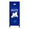Figure Skating Mini Locker Blue