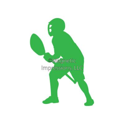 Lacrosse Goalie Male Window Decal